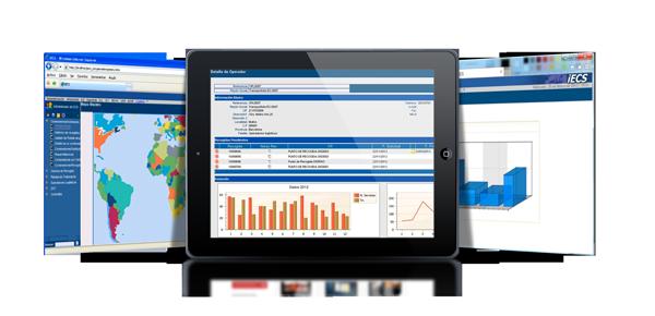Inteligencia de negocio. Optimización de la empresa y toma de decisiones. Estructura del software de gestión iECSWaste.