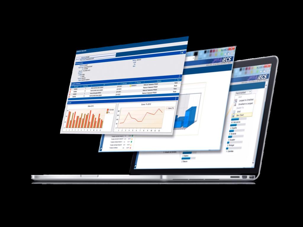 Software Gestión de residuos - iECS Waste capturas de pantalla.